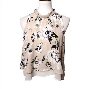 ASTR The Label Womens Small Blouse Multico…